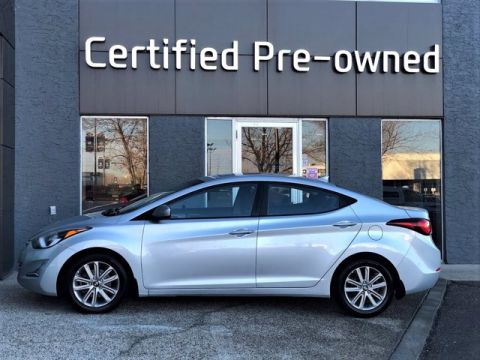 2014 Hyundai Elantra GLS w/ SUNROOF / 6 SPEED