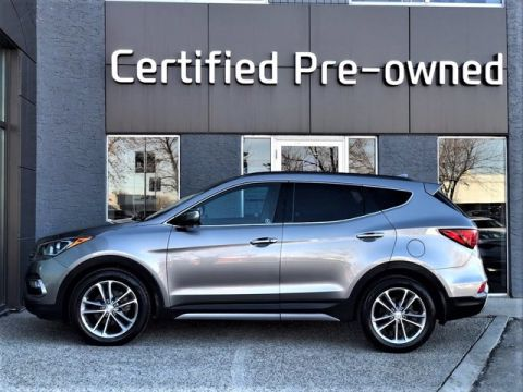 Pre-Owned 2017 Hyundai Santa Fe Sport ULTIMATE w/ TURBO / NAVI / ADAPTIVE CRUISE Sport Utility