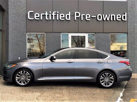 Pre-Owned 2015 Hyundai Genesis Sedan TECHNOLOGY w/ HUD / AWD / PANORAMIC ROOF 4dr Car